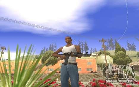 AK 101 para GTA San Andreas segunda tela