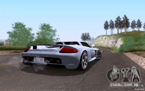 Porsche Carrera GT para o motor de GTA San Andreas