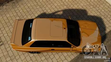 BMW M3 E30 Stock 1991 para GTA 4 vista direita