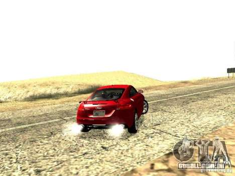 Audi TT-RS Coupe 2011 v.2.0 para GTA San Andreas vista traseira