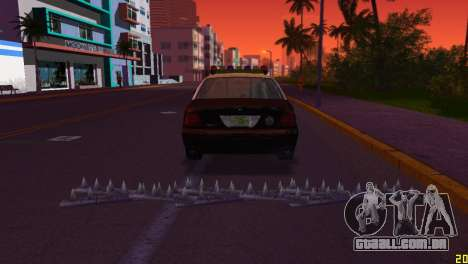 HP Stinger 2.0 para GTA Vice City segunda tela