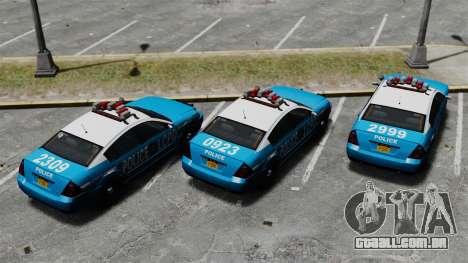 Annis Pinnacle ELS para GTA 4 vista de volta