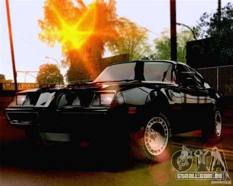 Lensflare Settings para GTA San Andreas segunda tela