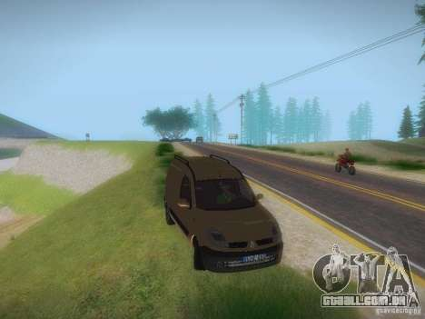 Renault Kangoo II Stock para GTA San Andreas vista direita