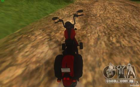 Motorcycle from Mercenaries 2 para GTA San Andreas esquerda vista