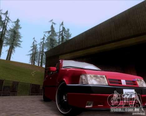Fiat Tempra 1998 Tuning para GTA San Andreas esquerda vista