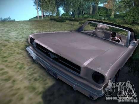 Ford Mustang Convertible 1964 para GTA San Andreas