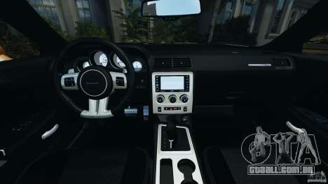 Dodge Challenger SRT8 392 2012 ACR [EPM] para GTA 4 vista de volta