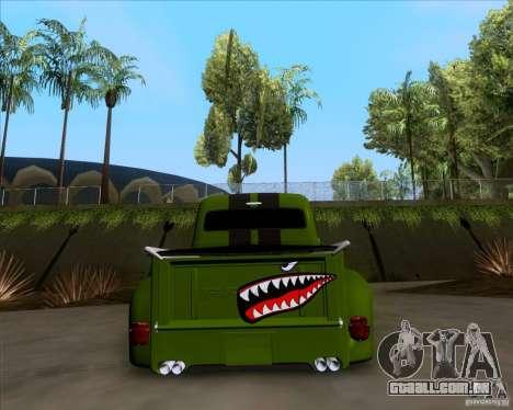 Ford FR-100 2003 para GTA San Andreas vista interior