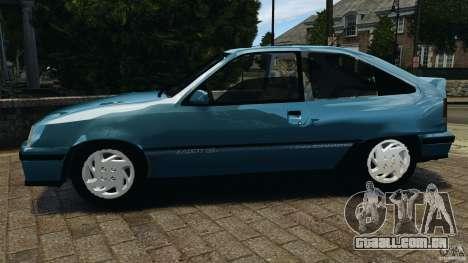 Chevrolet Kadett GSI para GTA 4 esquerda vista