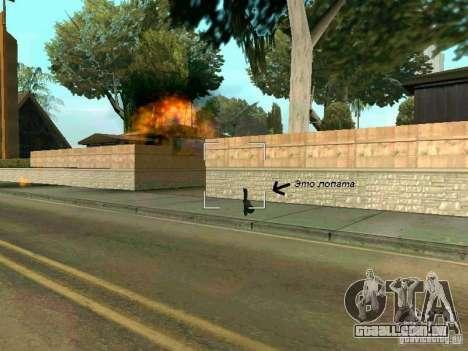 Lopatomët para GTA San Andreas oitavo tela