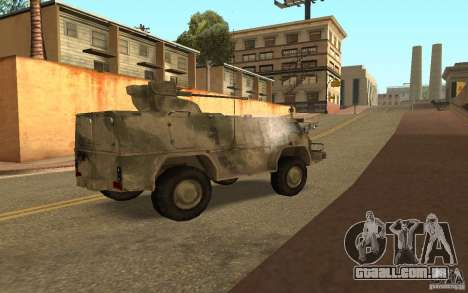 GÁS-3937 Vodnik para GTA San Andreas vista direita