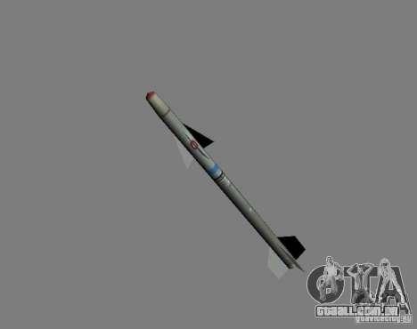 Foguete para GTA San Andreas segunda tela