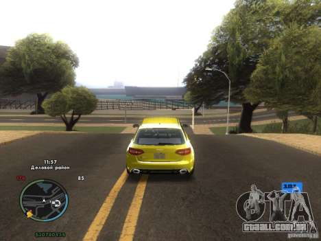 Velocímetro eletrônico para GTA San Andreas sexta tela