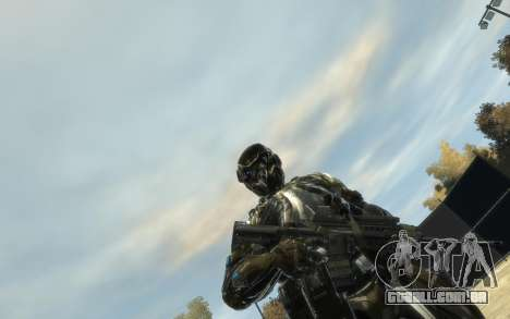 Crysis 3 The Hunter skin para GTA 4