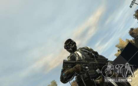 Crysis 3 The Hunter skin para GTA 4 segundo screenshot