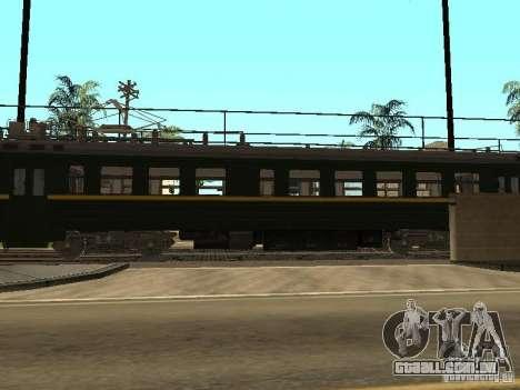 ÈR2R-7750 para GTA San Andreas traseira esquerda vista
