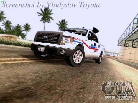 Ford F-150 Road Sheriff para GTA San Andreas