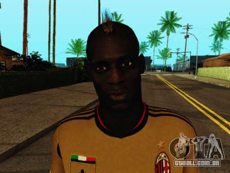 Mario Balotelli v3 para GTA San Andreas sexta tela