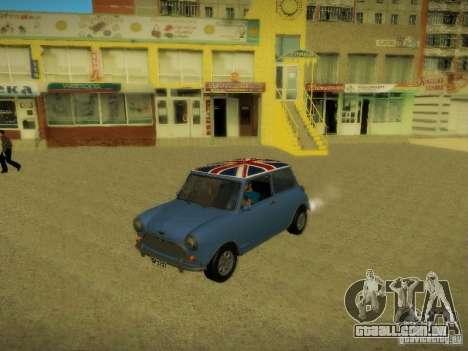 Mini Cooper 1965 para GTA San Andreas vista superior