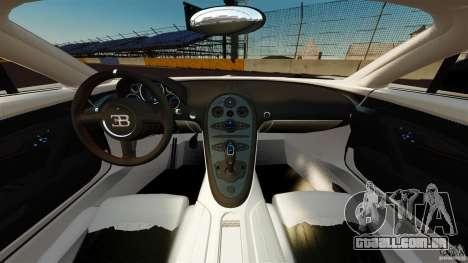 Bugatti Veyron 16.4 Super Sport 2011 [EPM] para GTA 4 vista de volta