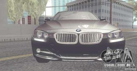 BMW 335i Coupe 2013 para GTA San Andreas esquerda vista