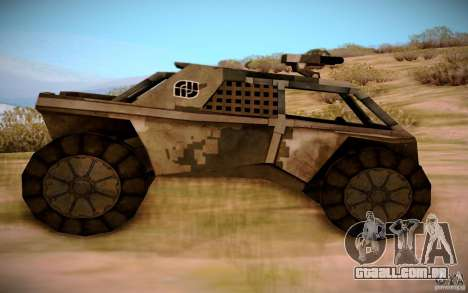 MK-15 Bandit para GTA San Andreas esquerda vista