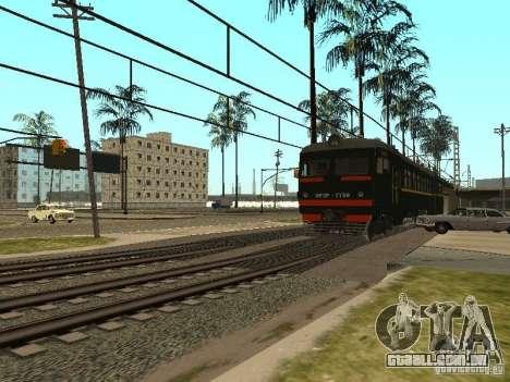 ÈR2R-7750 para GTA San Andreas vista traseira