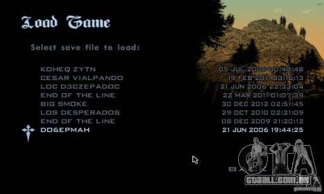 Patch para GTA San Andres Steam V 3.00 para GTA San Andreas