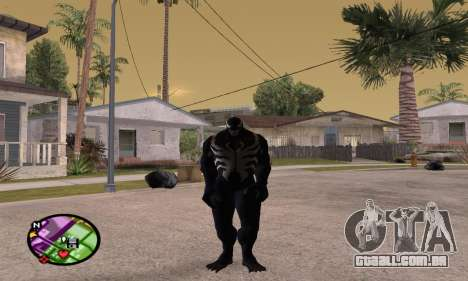 Spider Man and Venom para GTA San Andreas
