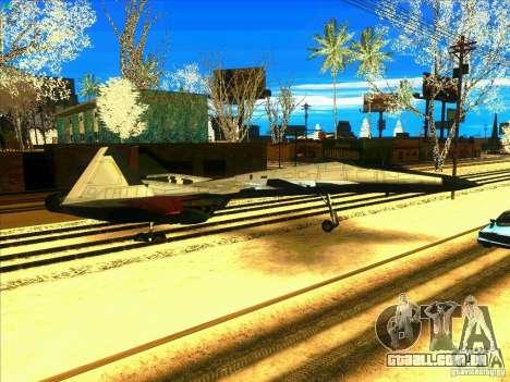 ADFX-02 Morgan para GTA San Andreas vista traseira