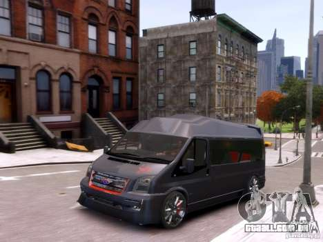 Ford Transit Sport Edition RV 2013 para GTA 4 vista interior