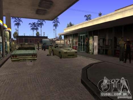 Posto ocupado em Los Santos para GTA San Andreas