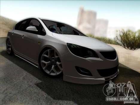 Opel Astra Senner Lower Project para GTA San Andreas