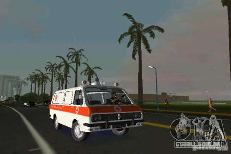 RAF-22031 ambulância para GTA Vice City