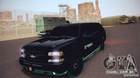 Chevrolet Suburban 2003 para GTA San Andreas