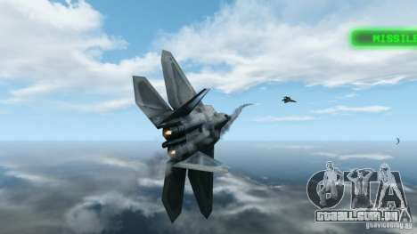 Air Combat IV para GTA 4 segundo screenshot