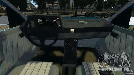 Chevrolet Kadett GSI para GTA 4 vista de volta