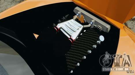 Chevrolet Corvette ZR1 para GTA 4 motor