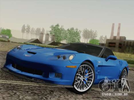 Chevrolet Corvette ZR1 para GTA San Andreas