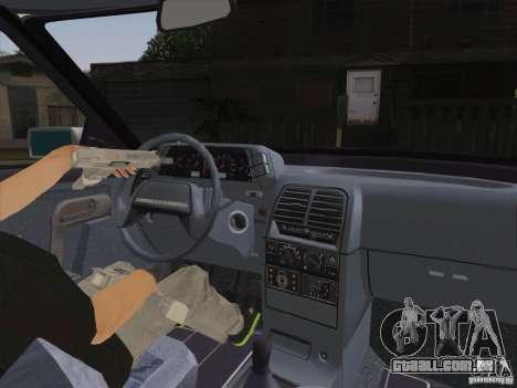 Dreno VAZ 2110 para GTA San Andreas traseira esquerda vista