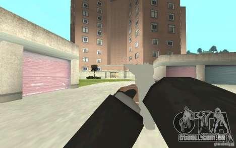 Nova animação de GTA IV para GTA San Andreas quinto tela
