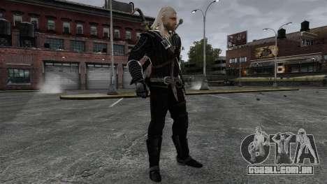 Geralt de Rivia v8 para GTA 4 quinto tela