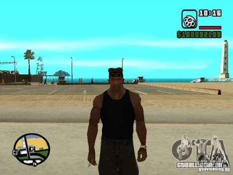Mike Rammstein para GTA San Andreas por diante tela