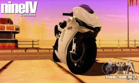 Ducati Desmosedici RR 2012 para GTA San Andreas esquerda vista