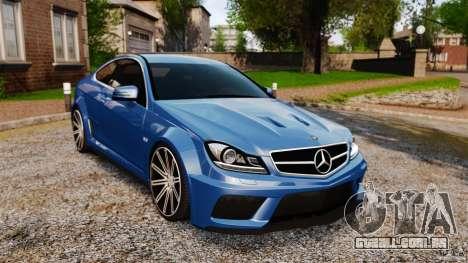 Mercedes-Benz C 63 AMG para GTA 4