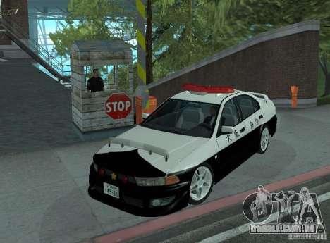 Mitsubishi Galant Police para GTA San Andreas
