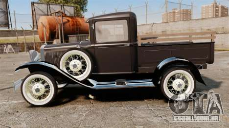 Ford Model T Truck 1927 para GTA 4 esquerda vista