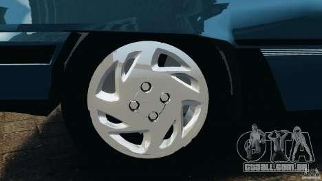 Chevrolet Kadett GSI para GTA 4 vista inferior