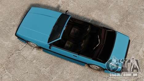 Conversível de Urano para GTA 4 vista direita